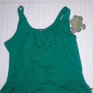 Athleta Teal Blue Tank dress Size XL